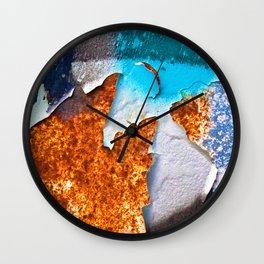 Peeling Off Wall Clock