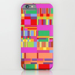 Debussy Little Shepherd (Jelly Bean Colours) iPhone Case