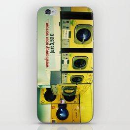 wash away your sorrow... iPhone Skin