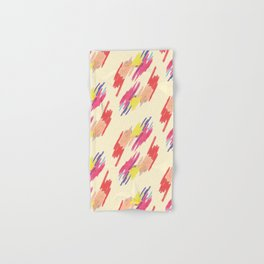 Abstract Colorful Pattern Hand & Bath Towel