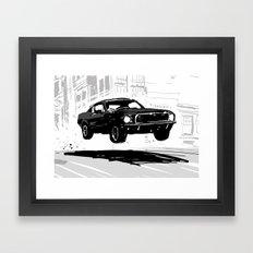 Bullitt Framed Art Print
