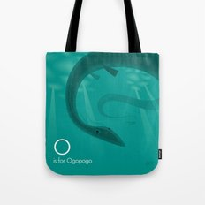 O is for Ogopogo Tote Bag