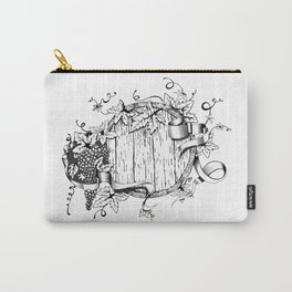 Wine in a barrel Carry-All Pouch