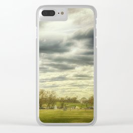 The Monument Clear iPhone Case