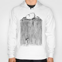 rain Hoodies featuring rain by Gerard Russo
