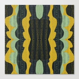 Tribal Minty Canvas Print