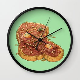 POSSESSED ROTTEN MEAT Wall Clock