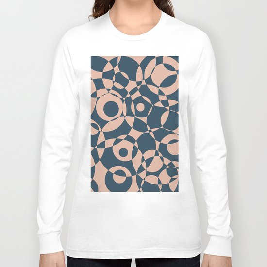 Abstract circles Long Sleeve T-shirt