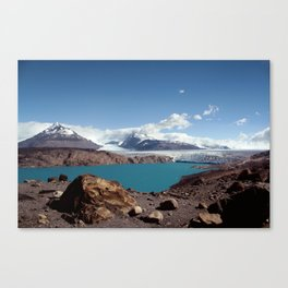 Ice & Snow- Glaciar Upsala Canvas Print