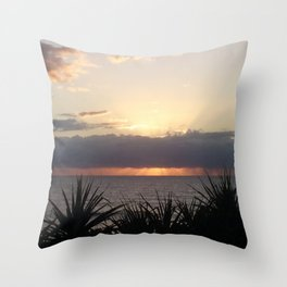 Break of Day - Wickham Point , Caloundra Australia Throw Pillow