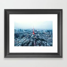 Tokyo Megacity Framed Art Print