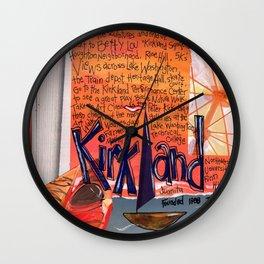 Kirkland Washington Wall Clock