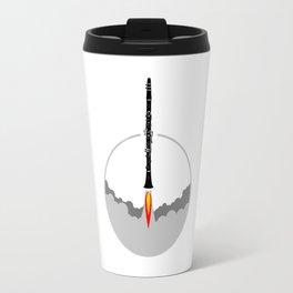 Clarinet Rocket Travel Mug
