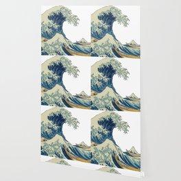 Katsushika Hokusai The Great Wave Off Kanagawa Wallpaper