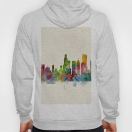 Chicago City Skyline Hoody