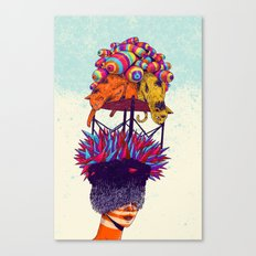 Full head Canvas Print