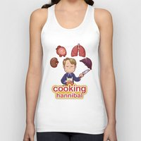 cooking Tank Tops featuring Cooking Hannibal by Sabrina Cotugno