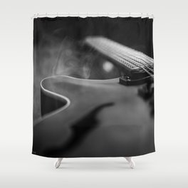 SEMI HOLLOW Shower Curtain