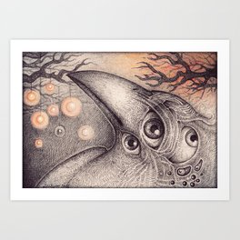 The Nightwatch  Art Print