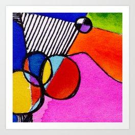 Magical Thinking 7A6 by Kathy Morton Stanion Art Print