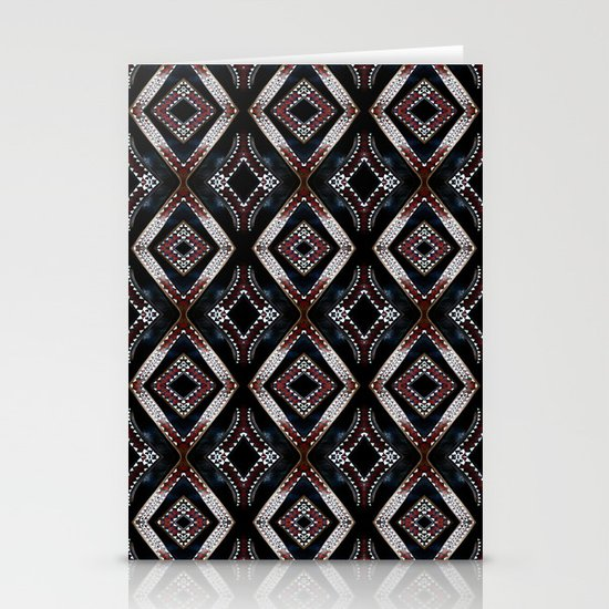 Pacific carve Stationery Cards