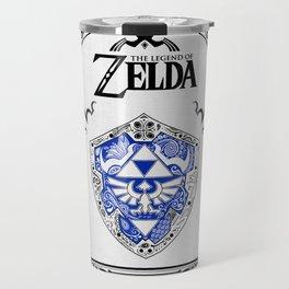 Zelda legend - Hylian shield Travel Mug