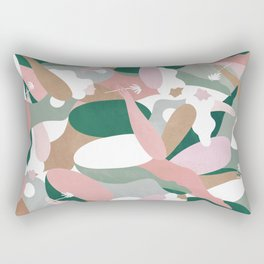 Depiction Of Self Love (emerald) Rectangular Pillow
