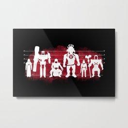 Plastic Villains  Metal Print