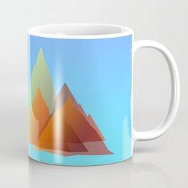 MTB Moutains Colors Coffee Mug