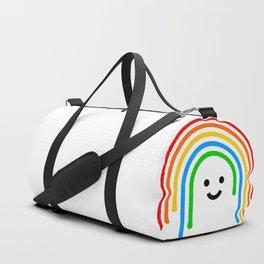 Drippy rainbow Duffle Bag