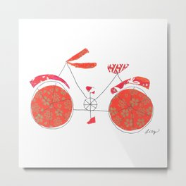 Push Bike Metal Print