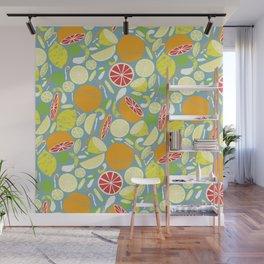 Citrus Zing Wall Mural