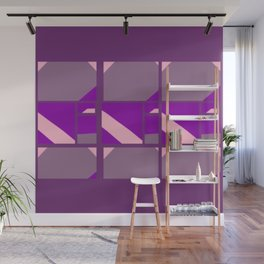 Please Pink, Maybe Mauve, Patterned Purple Wall Mural