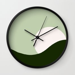 Abstract sun Wall Clock