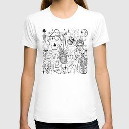 Antique Magic Starter Pack Black and White T-shirt