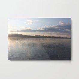 Mallory Island Sunset Metal Print
