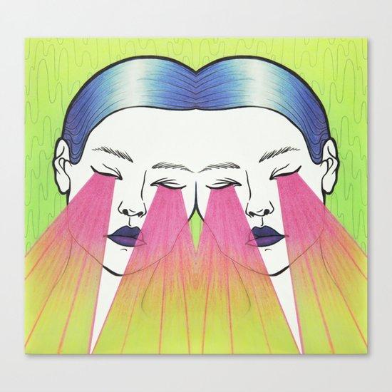 Twin beams Canvas Print
