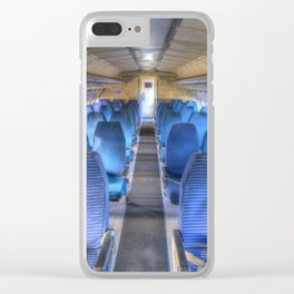 Russian Airliner Seating Clear iPhone Case