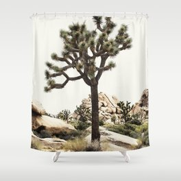 Joshua Tree Shower Curtain