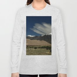 High Mountains and Sand Dunes Long Sleeve T-shirt