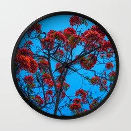 Monroe County Wall Clock