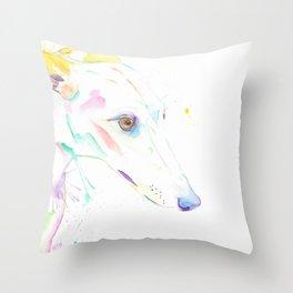ROCO (The Brindle Greyhound) Throw Pillow