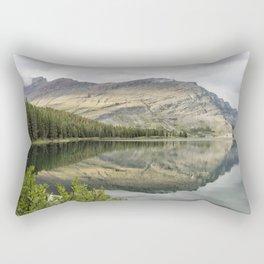Where the Bears Roam - Many Glacier - Glacier NP Rectangular Pillow