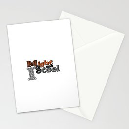Might and Steel Stationery Cards