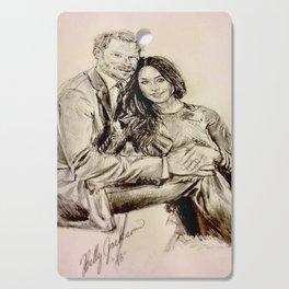 Meghan Markle & Prince Harry Cutting Board