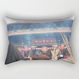 Lunar New Year Prayers Rectangular Pillow