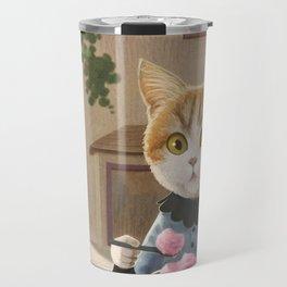 Yummy ice cream and a Cat Travel Mug