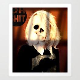 Skull graphic design Art Print