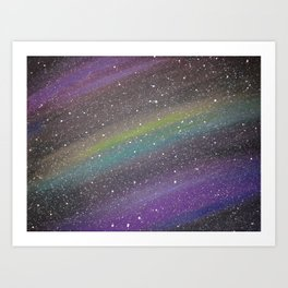 Galaxy Dreams 1 Art Print