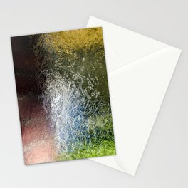 Glass Abstract Stationery Cards